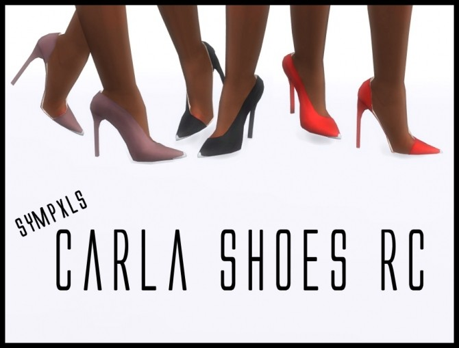 Carla Shoes RC by Sympxls at SimsWorkshop image 3313 670x509 Sims 4 Updates
