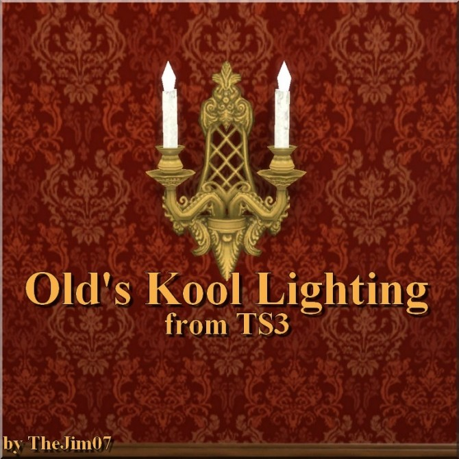 Sims 4 Olds Kool Lighting from TS3 by TheJim07 at Mod The Sims