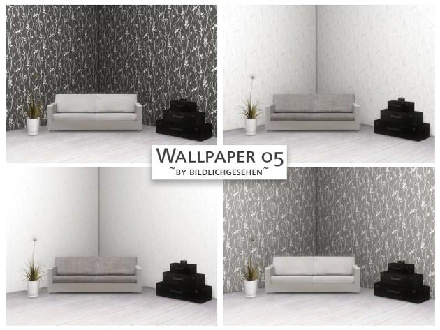 Wallpaper 05 by Bildlichgesehen at Akisima image 3426 Sims 4 Updates