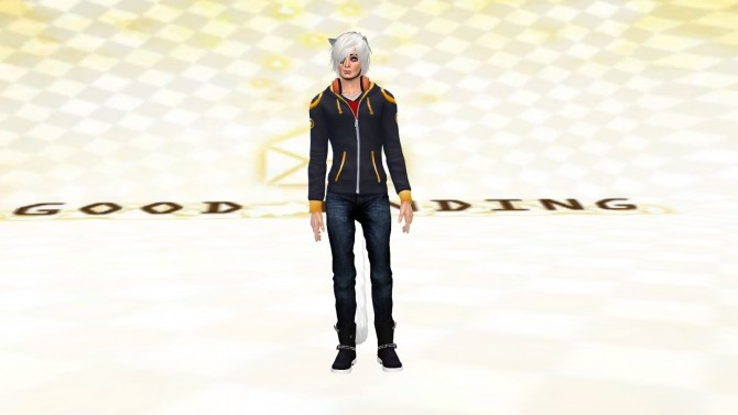 Sims 4 707s famous hoodie from Mystic messenger by ShadowEatsSkittlez at SimsWorkshop