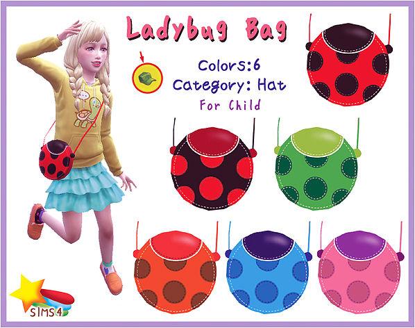 Sims 4 Ladybug Bag at A luckyday