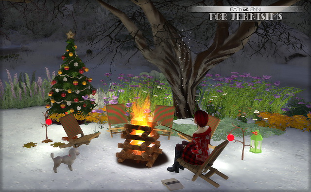 Set Christmas outside Faby (8items) at Jenni Sims image 3911 Sims 4 Updates