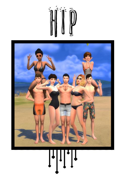 Sims 4 Hip pose at j e n n e h – SakuraLeon