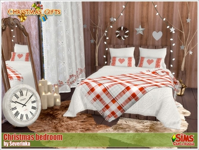 Christmas bedroom at Sims by Severinka image 3925 670x505 Sims 4 Updates