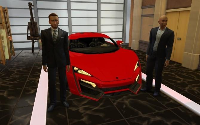 W Motors Lykan Hypersport At Lorysims 187 Sims 4 Updates