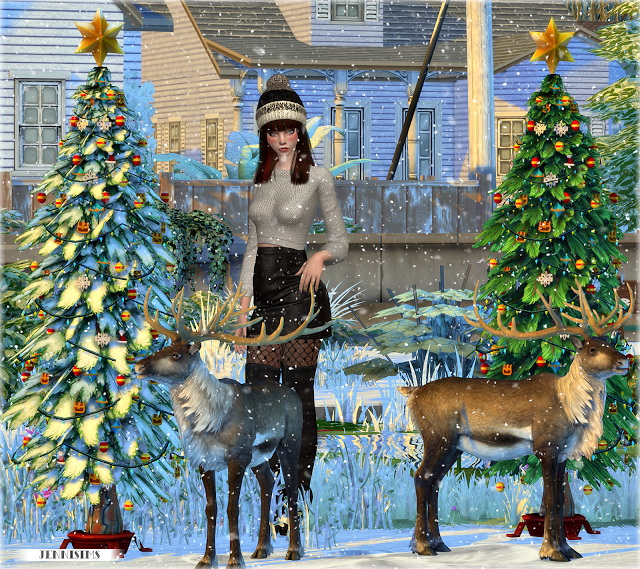 Christmas Holiday (reindeer, Christmas Tree) Vol 3 At
