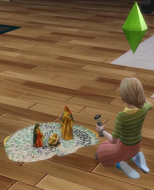 Sims 4 Nativity Dollhouse by BigUglyHag at SimsWorkshop