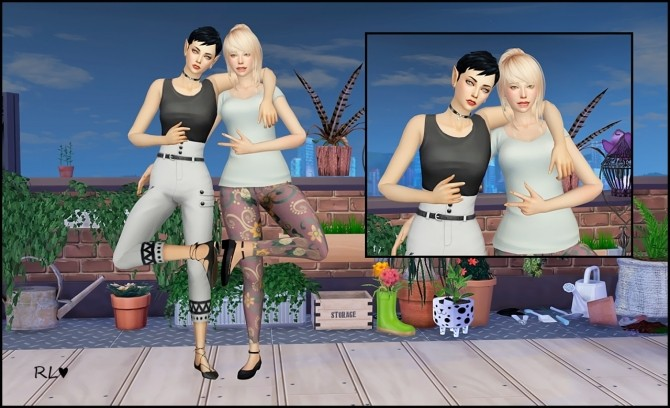 Model posepack V.3 at Rethdis love image 408 670x408 Sims 4 Updates