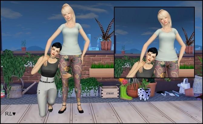 Model posepack V.3 at Rethdis love image 409 670x408 Sims 4 Updates