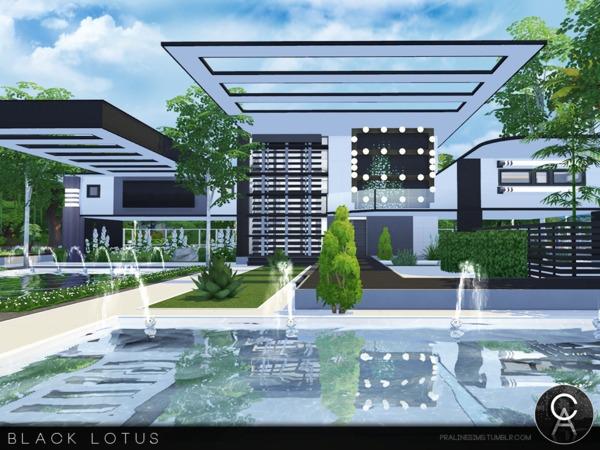 Black Lotus house by Pralinesims at TSR image 41 Sims 4 Updates