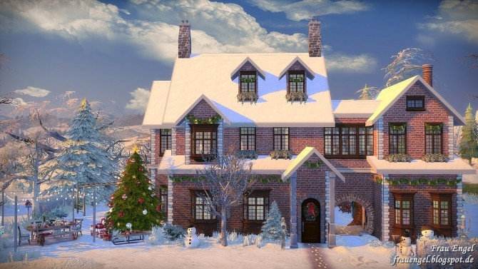 Winter Flowers House at Frau Engel image 4112 670x377 Sims 4 Updates