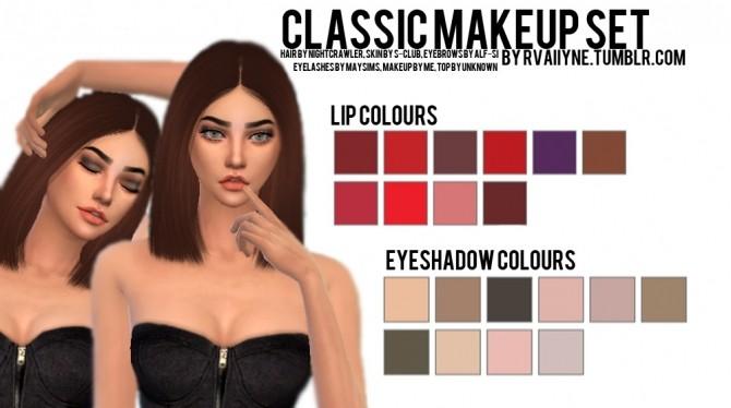 Sims 4 Classic Makeup Set at Rvaiiyne