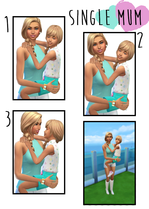 Single Mum poses at j e n n e h – SakuraLeon image 4121 Sims 4 Updates