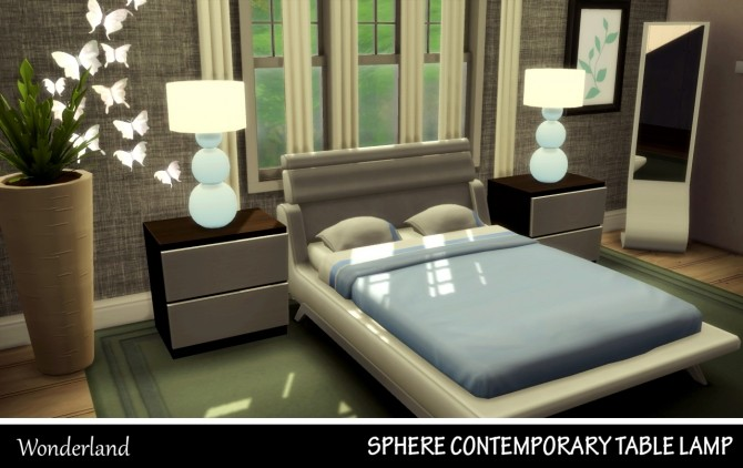 Sphere Contemporary Table Lamp at Wonderland Sims4 image 4122 670x422 Sims 4 Updates