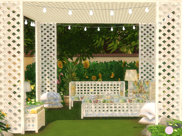 Waters Sun Room Set by DOT at TSR image 4123 Sims 4 Updates