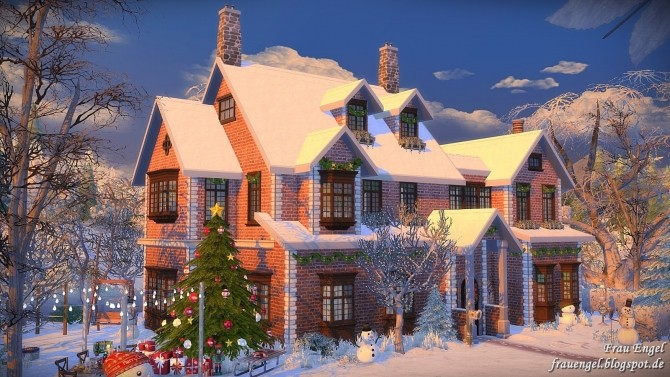 Winter Flowers House at Frau Engel image 4212 670x377 Sims 4 Updates