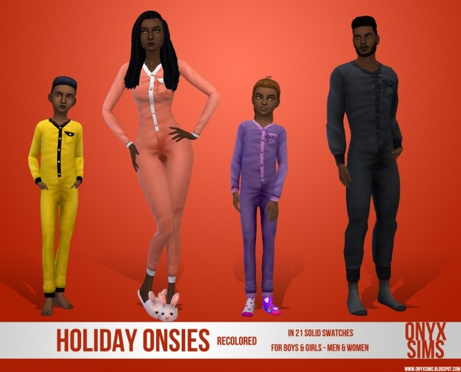 Solid Onesie Recolors at Onyx Sims image 4225 670x541 Sims 4 Updates