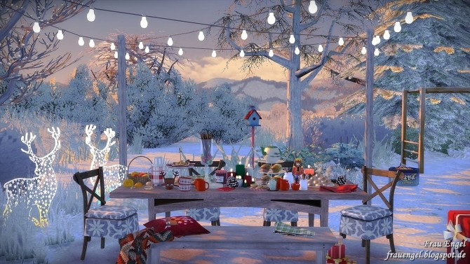 Winter Flowers House at Frau Engel image 4312 670x377 Sims 4 Updates