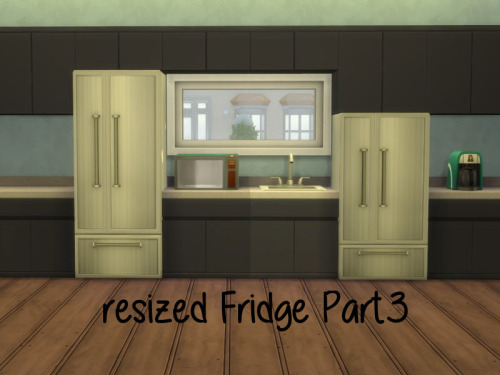 Sims 4 Resized Fridge Part3 at ChiLLis Sims