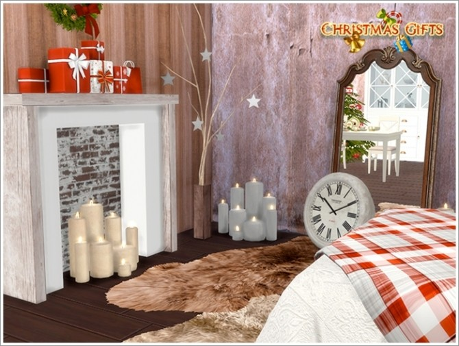 Christmas bedroom at Sims by Severinka image 4326 670x505 Sims 4 Updates