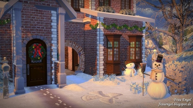 Winter Flowers House at Frau Engel image 4412 670x377 Sims 4 Updates