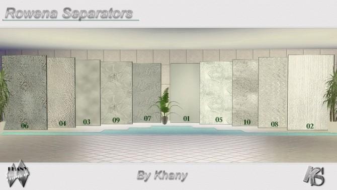 ROWENA separators at Khany Sims image 4414 670x377 Sims 4 Updates