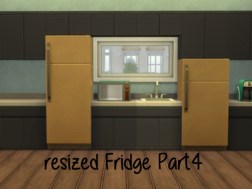 Resized Fridge Part4 at ChiLLis Sims image 4422 Sims 4 Updates