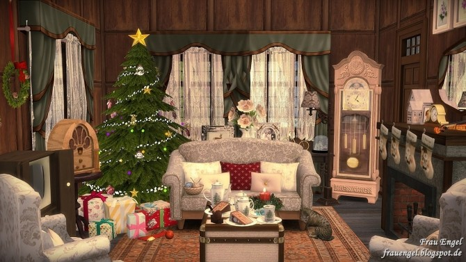 Winter Flowers House at Frau Engel image 4512 670x377 Sims 4 Updates