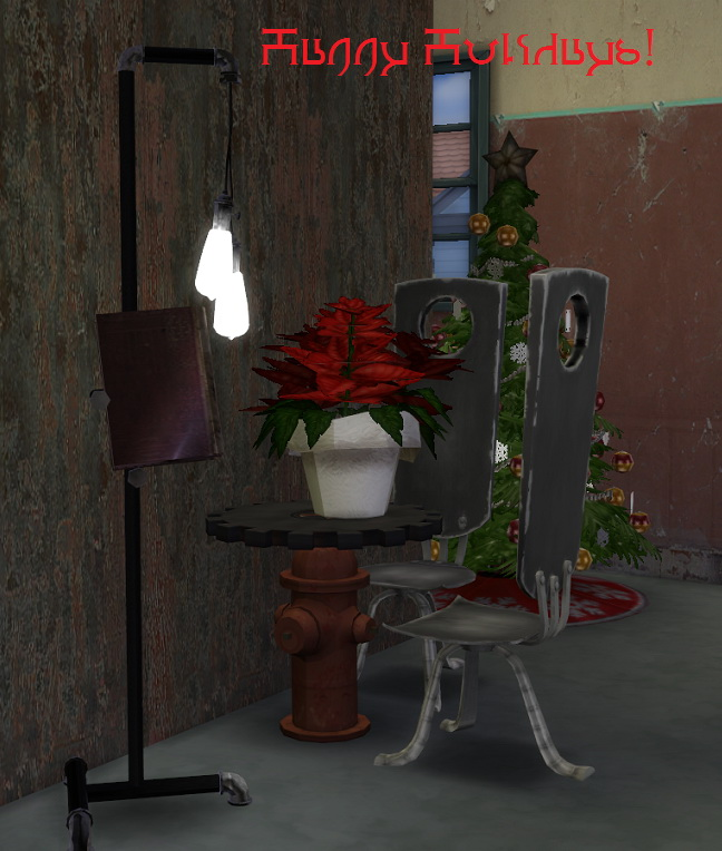 2 to 4 Poinsettia plants by BigUglyHag at SimsWorkshop image 4515 Sims 4 Updates