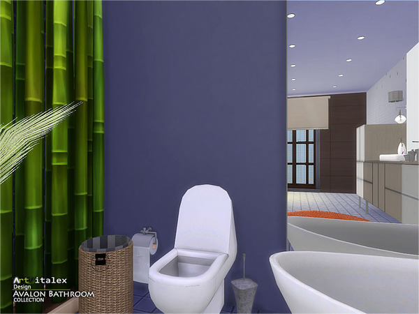 Avalon Bathroom by ArtVitalex at TSR image 4524 Sims 4 Updates