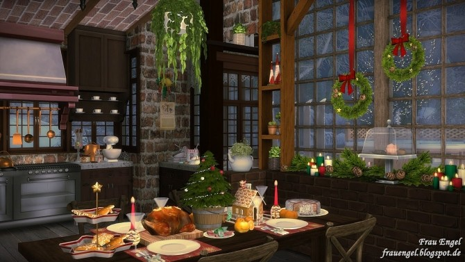 Winter Flowers House at Frau Engel image 4610 670x377 Sims 4 Updates