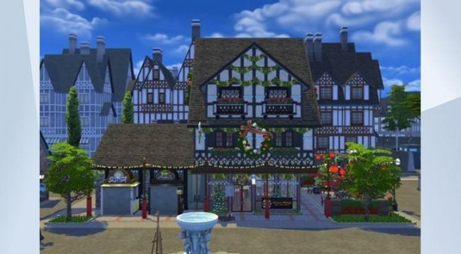 Christmas Café & Diner at ChiLLis Sims image 465 670x369 Sims 4 Updates