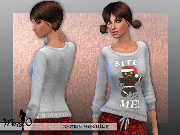 Christmas sweater by Mis O at TSR image 48 Sims 4 Updates