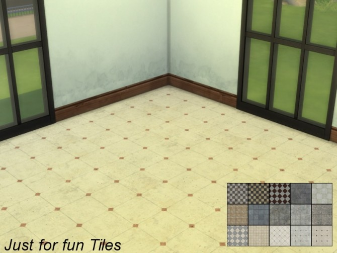 Just for fun Tiles at ChiLLis Sims image 480 670x503 Sims 4 Updates