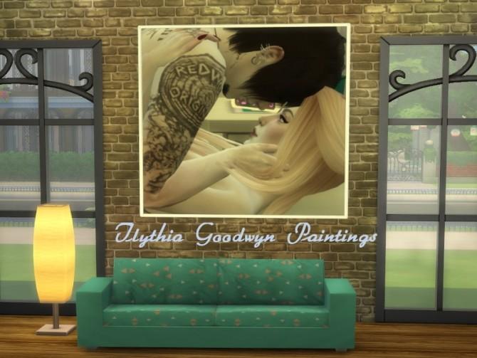 Sims 4 Ilythia Goodwyn Paintings at ChiLLis Sims