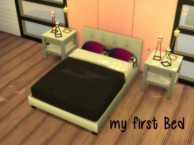 Sims 4 Bed at ChiLLis Sims