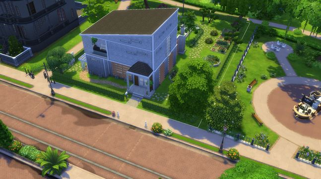 Sims 4 Riverside eco house by Blackbeauty583 at Beauty Sims