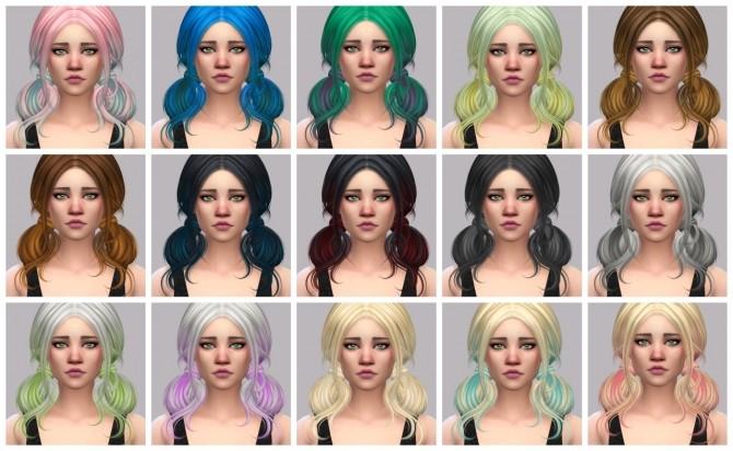 Sims 4 Skysims hair retexture at Maimouth Sims4