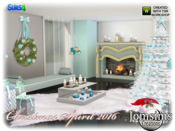 Christmas spirit 2016 set by jomsims at TSR image 5100 Sims 4 Updates