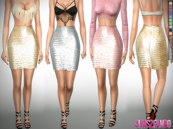 275 Party skirt by sims2fanbg at TSR image 5103 Sims 4 Updates