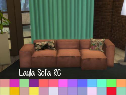 Layla Sofa RC at ChiLLis Sims image 5117 Sims 4 Updates