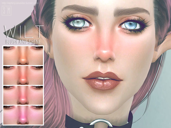 Wilt Blush and Shine by Screaming Mustard at TSR image 5124 Sims 4 Updates