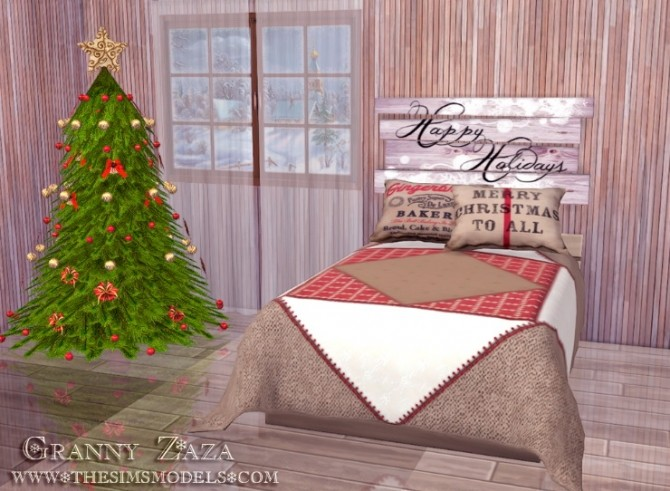 Winter Set by Granny Zaza at The Sims Models image 5214 670x491 Sims 4 Updates