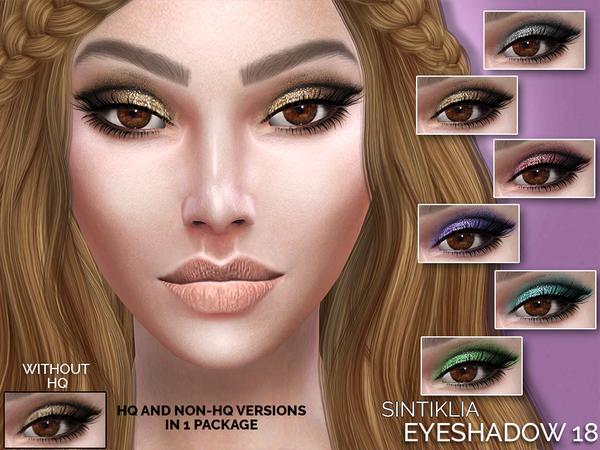 Sims 4 Eyeshadow 18 by Sintiklia at TSR