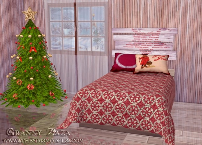 Winter Set by Granny Zaza at The Sims Models image 5314 670x480 Sims 4 Updates