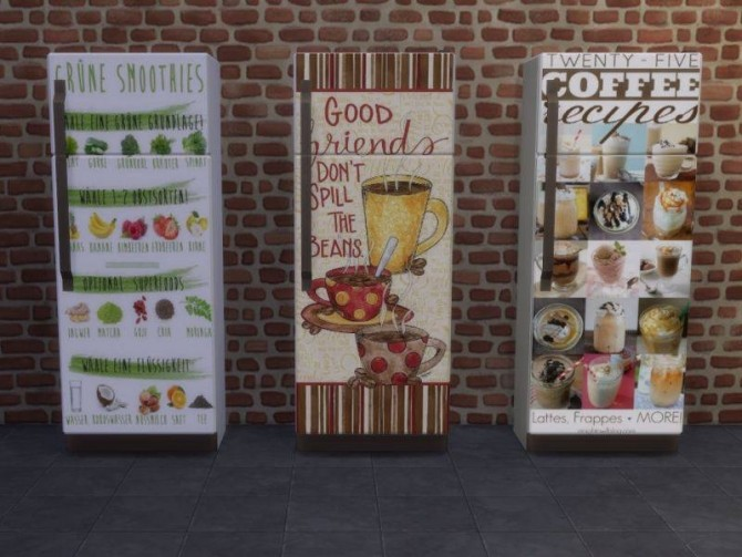 Sims 4 Fridge Part 4 at Annett's Sims 4 Welt