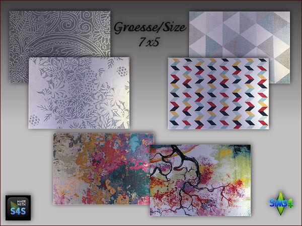 6 rugs size 7x5 by Mabra at Arte Della Vita image 5414 Sims 4 Updates