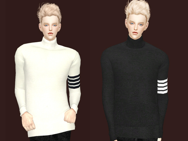 Thom Browne Sweater By Meeyou X At Tsr 187 Sims 4 Updates