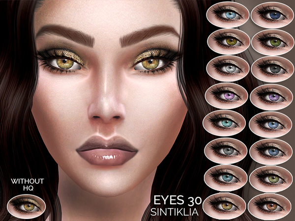 Sims 4 Eyes 30 by Sintiklia at TSR