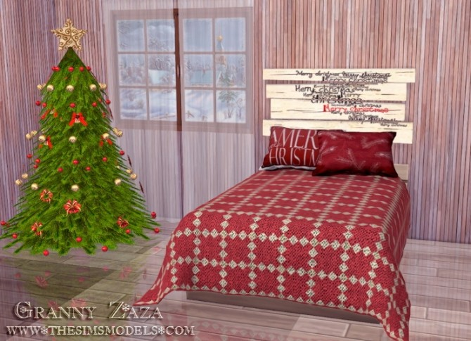 Winter Set by Granny Zaza at The Sims Models image 5514 670x485 Sims 4 Updates